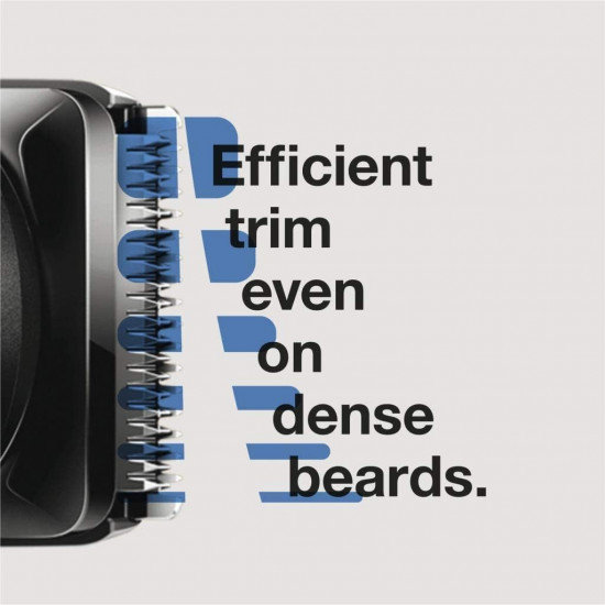 Beard trimmer with hair trimmer for men MGK5060