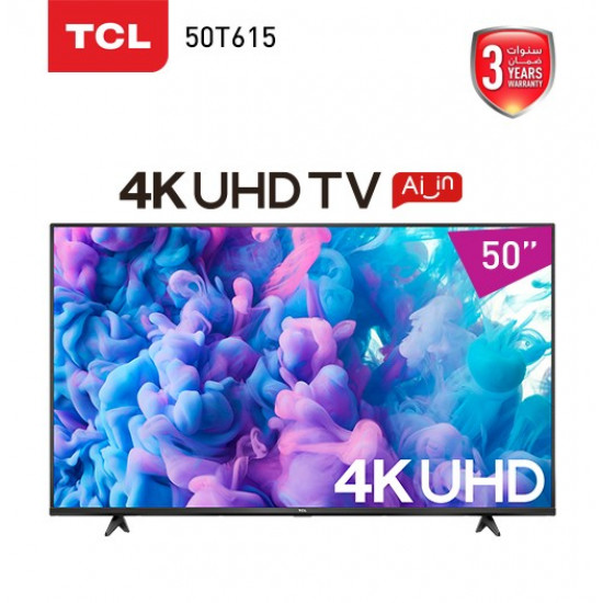 Screen - TCL - 50 inch - 50T615